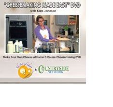 Cheese Making DVD