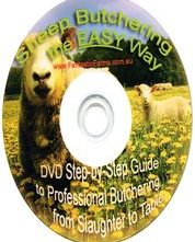 Sheep Butchering DVD