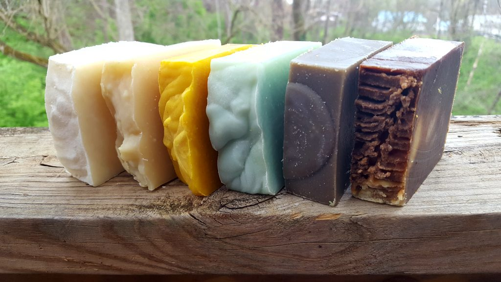 Coloring Soap Naturally - Countryside