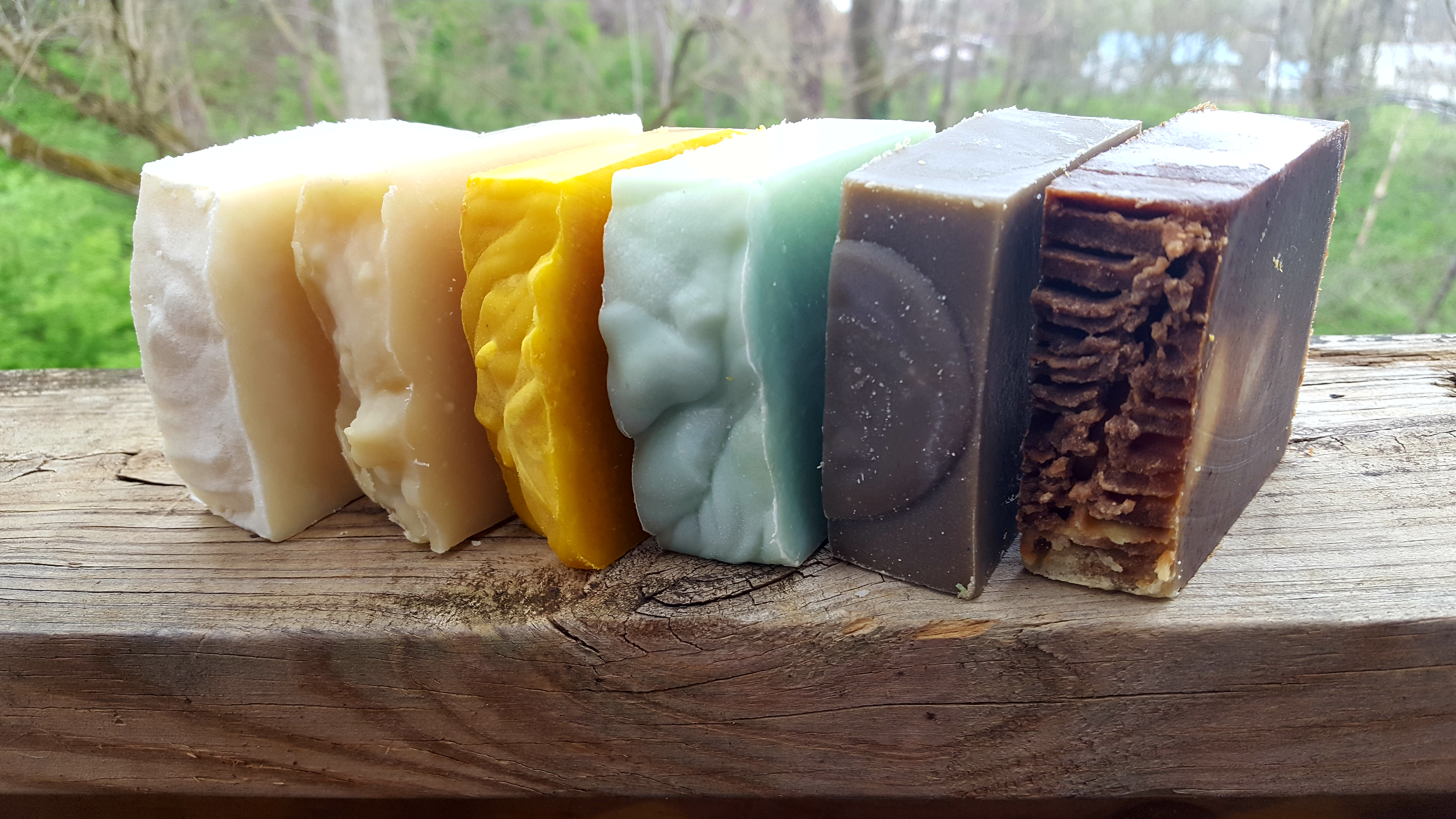 Coloring Soap Naturally
