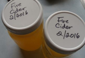 Beat Colds and Flu with this Fire Cider Recipe
