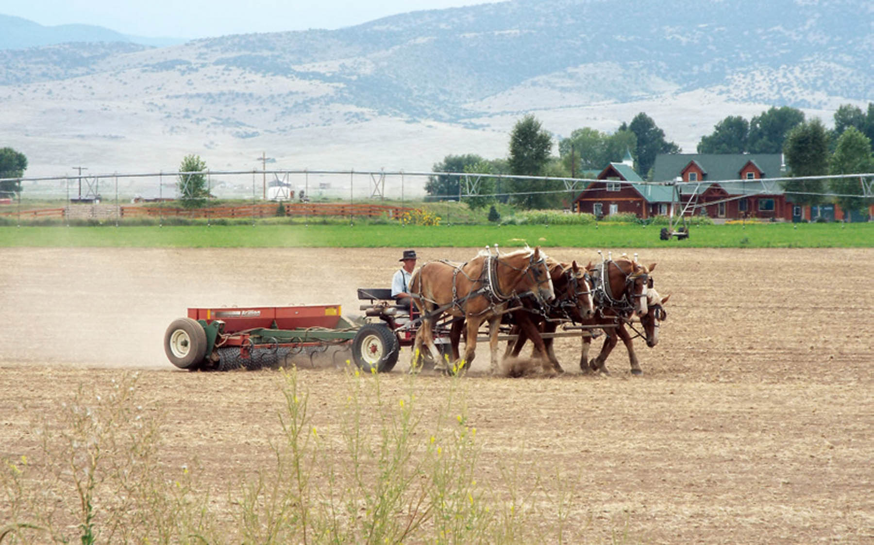Old and New Methods of Agriculture in The San Luis Valley