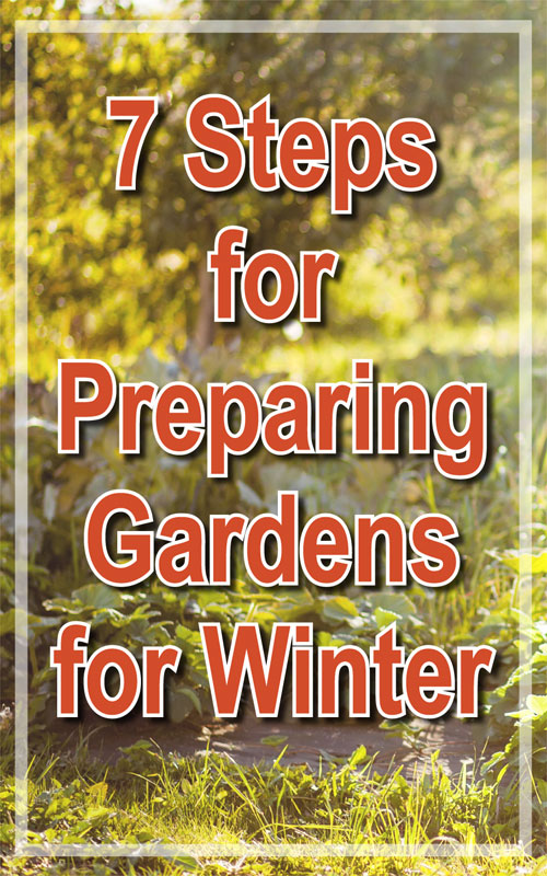 Preparing Gardens for Winter