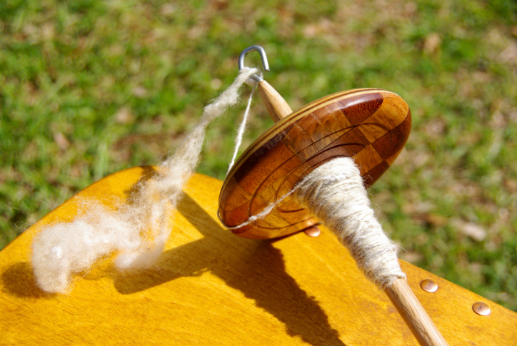 Drop Spindle Spinning: Making and Using Your First Spindle