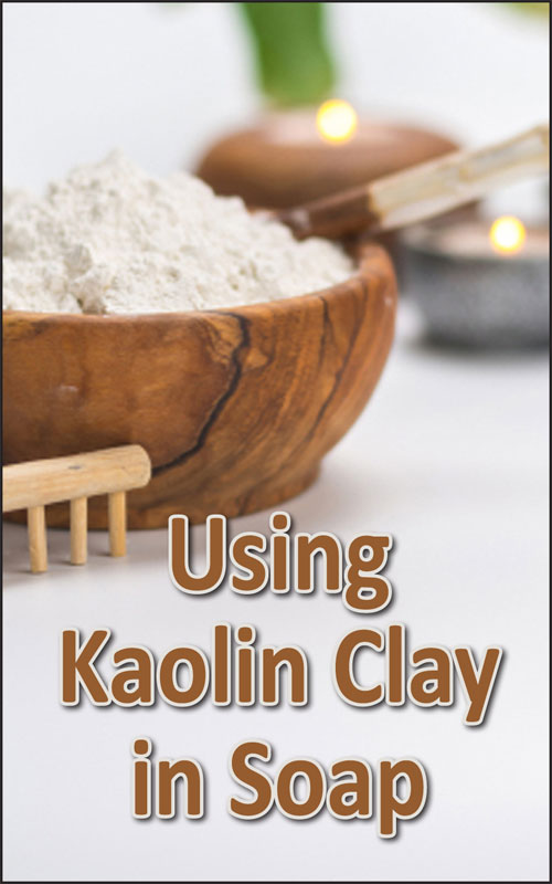 Kaolin Clay in Soap