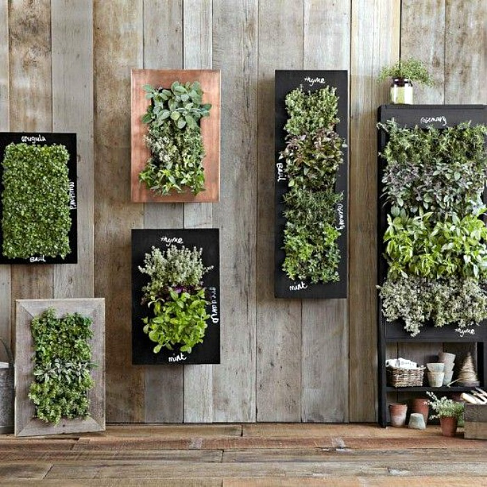 Wall Mounted Planters Are Ideal For Herbs And Small Spaces Countryside
