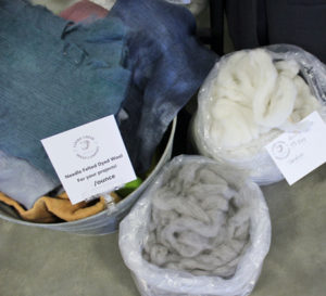 Rovings, Fleeces and Yarns