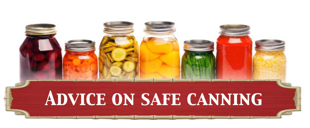 Advice On Safe Canning