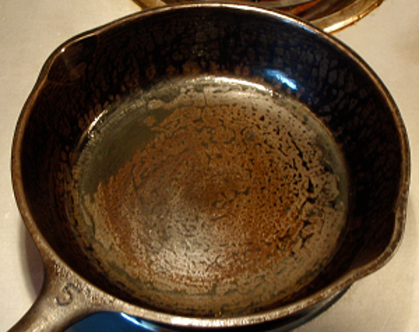 Seasoning a Cast Iron Pan