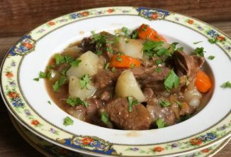No-Peek Beef Stew for a Winter Warm Up