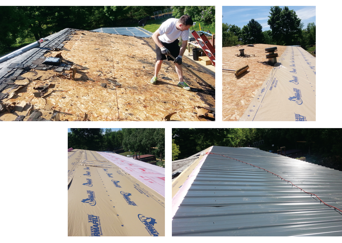 Adding a Metal Roof