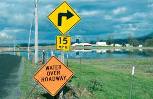 Flooding in Washington state made getting supplies in and out more difficult.