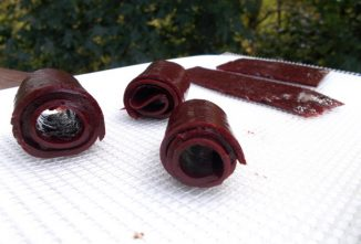 Homemade Fruit Roll-Ups Taste Great and They're Healthy, Too!