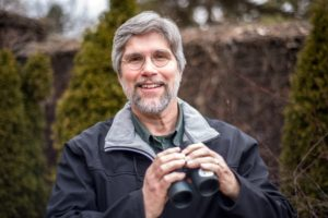 Bob Mulvihill, the National Aviary's ornithologist. Photo courtesy of National Aviary.