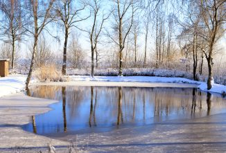 Farm Pond Maintenance to Prevent Winterkill