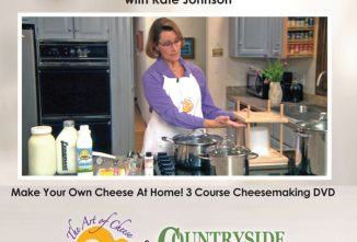 Cheesemaking Made Easy DVD