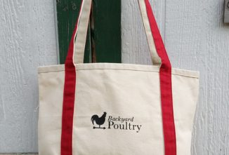 Backyard Poultry Canvas Tote Bag