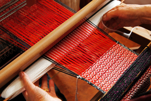 A Love for Weaving