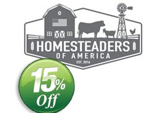 Homesteaders of America 15% Off