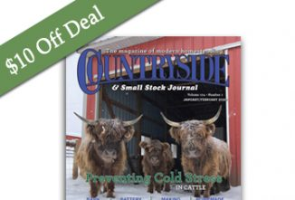 $10 off Deal — Countryside Print Subscription
