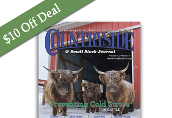 $10 off Black Friday Deal — Countryside Print Subscription