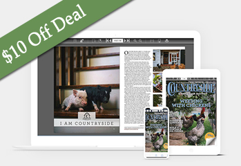 $10 off Black Friday Deal — Countryside Web-Only Subscription