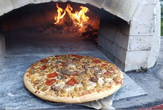 DIY Wood-Fired Pizza Oven