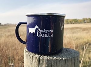 Goat Journal/ Backyard Goats Camp Mug