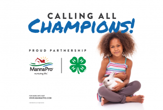 Manna Pro® Extends Its 4-H Partnership